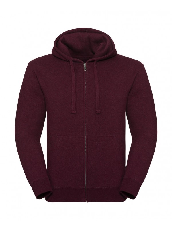 Men's Authentic Melange Zipped Hood Sweat