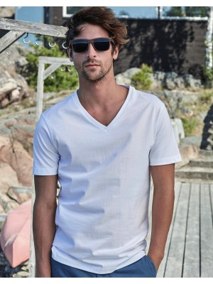 Mens Fashion V-Neck Sof-Tee