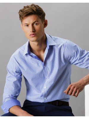 Tailored Fit Bengal Stripe Shirt LS