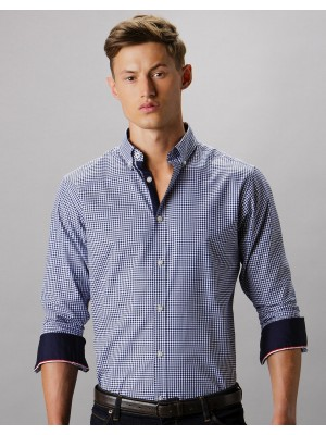 Tailored Fit Gingham Shirt LS
