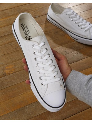 Low Top Printable Canvas Shoe/XL