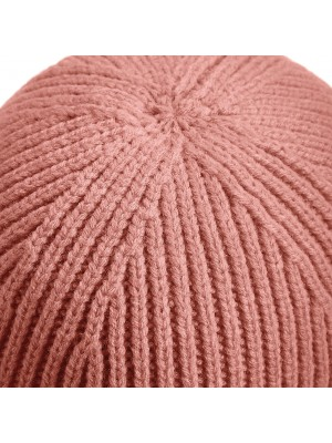 Engineered Knit Ribbed Beanie